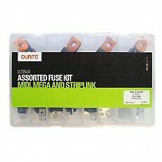 Durite Assorted Mini, Mega and Striplink Fuse Kit