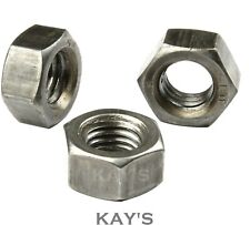 "BSF FULL NUTS FINE THREAD HEXAGON GRADE A 1/4"" 5/16"" 3/8"" 7/16"" 1/2"" 5/8"" 3/4"""