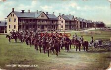 1910 ARTILLERY INSPECTION HELD WEEKLY, UNITED STATES ARMY POST