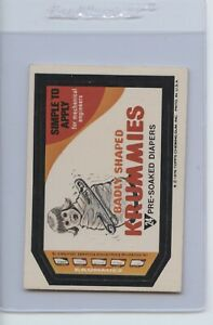 1977 Topps Wacky Packages 16th series Lot of 7 EX to NM