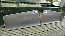 Land Rover Series 1 1954 to 1958 Seat Box Ends / Sides - Repair Panels (Pair)