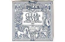 Ernie Ball Ernesto Palla Classical Nylon 2403 Clear & Silver .028 - .042