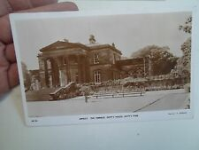 G7 Rare RPPC  Armley, The Terrace Gott's House, Gott's Park AR24 J F Lawrence
