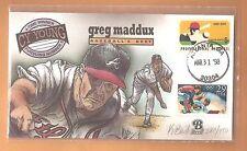Greg Maddux~Fifth Cy Young~Bevil Painted Cachet~301/450~Atlanta Braves~