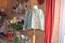 blouse tartine et chocolat neuve 3  ans jaune gris noir  voir jupe assort ***