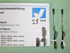 vissmann - n   2 x  4413  ausfahrts signale , 6 x leds