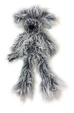 "Jellycat London Plush: (18"" Medium Scruff Pup) Long Hair Dog Retired NWT"