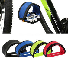 Cycling Fixed Gear Bicycle Anti-slip Adhesive Straps Pedal Toe Clip Strap Belt s