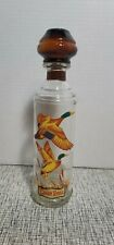 New listing Vintage Cabin Still Stitzel Weller Duck Pheasant Liquor Decanter Md Tax Sticker