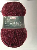 King Cole big value super chunky Stormy premium acrylic yarn 1x 100g ball