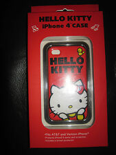 HELLO KITTY ROUGE ÉTUI IPHONE 4 I PHONE CASE kawaii COLLECTION