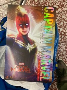 Used hottoys Hot Toys mms522 Captain Marvel Deluxe Version 1/6