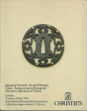 CHRISTIE'S Japanese Sword Fittings Guns Armour Tsuba Collection Catalog 1992