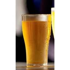 New 150 x Bulk Buy Bar Clear Glassware Plastic Drinking Beer Glasses Pot 285ml