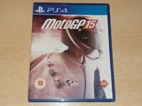MotoGP 15 PS4 Playstation 4 Moto GP **FREE UK POSTAGE**
