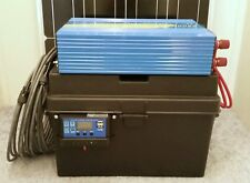 2500/5000 Watt Solar Generator (2) 100 Watt Solar Panels 100AH Battery Portable