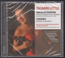 NEW FACTORY SEALED BBC TASMIN LITTLE CD MENDELSSOHN VIOLIN E CZERNY SYMPHONY