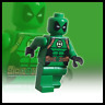 CUSTOM PRINTED LEGO MINIFIGURE || GREEN LANTERN DEADPOOL || OFFICIAL PARTS