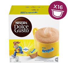 Nescafe Dolce Gusto Nesquik Hot Chocolate Capsules, 16 Pods, 16 Drinks