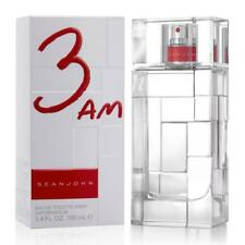 Sean John 3 AM Cologne For Men EDT Spray 3.4 / 3.3 Oz * NEW IN SEALED BOX *