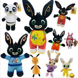 Bing Bunny Coco Sula Flop Pando Friend Hoppity Voosh Soft Plush Kid Toy XmasGift