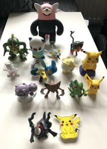 Vintage Pokemon  Figures X16 C.G.T.S.J - Nintendo - Tomy - Unbranded