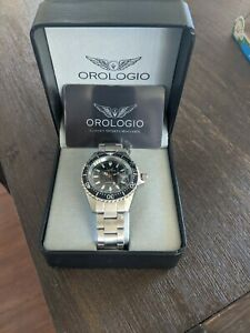 Orologio chronological Swiss movement sports watch