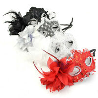 LACE VENETIAN MASK MASQUERADE CARNIVAL PARTY MASKED BALL FANCY DRESS COSTUME