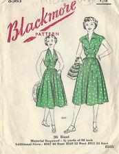 "1940s Vintage Sewing Pattern B36"" SKIRT, SUN TOP & BLOUSE (R97)"