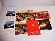 Maserati Biturbo Brochures_Spyder Brochure Collection 430 OEM