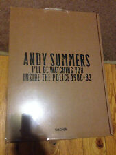 """I'll Be Watching You Andy Summers """"POLICE"""" signed RARE Limited Numbered Edition"""