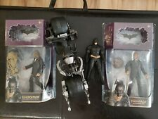 Batman The Dark Knight Rises Movie Masters lot BAT-POD Scarecrow TWO-FACE coin