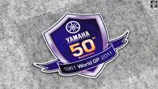50th Anniversary World GP Club Badge Decal Sticker For YAMAHA 1961-2011