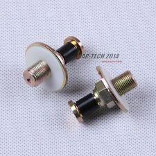 2Pcs Door Lock Striker Pins For VW Jetta Golf MK2 Passat B3 B4 AUDI A100 A200