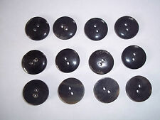 "Button Black Horn Button 7/8"" 18th century Reproduction 12"