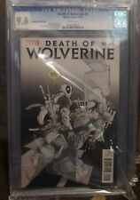 Death of Wolverine #1 (October 2014, Marvel) Deadpool Sketch CGC 9.6