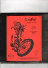 Biker LP  BOULDER - UNLEASED IN THE MIDWEST ( VERY RARE )