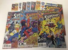 ACTION COMICS #700-710 (DC/1994/SUPERMAN/DC LOGO/0118272) COMPLETE SET LOT OF 11