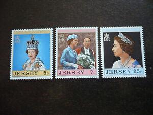 Stamps - Jersey - Scott# 168-170