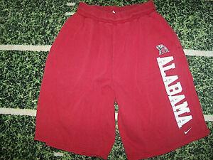 VTG 1990's Nike Alabama Crimson Tide Basketball Heavyweight Workout Gym Shorts