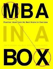 MBA in a Box: Practical Ideas from the Best Brains in Business by Victoria