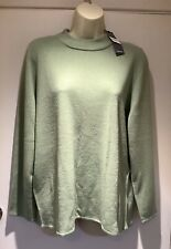 LADIES BON MARCHE APPLE GREEN SUPER SOFT JUMPER SIZE 18 - NEW WITH TAGS
