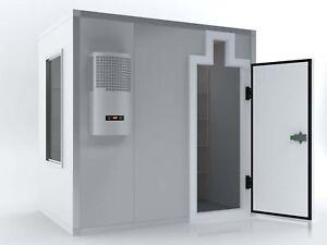 II. Wahl Kühlhaus Kühlzelle Kühlraum Kühllager 4,00m x 3,50m x 2,10m NK