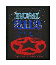 Rush Woven Sew On Patch - 2112 Battle Jacket Patch #101