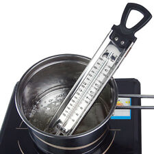 1 Pcs Steel Jam Sugar Thermometer Cooking Candy Kitchen Temp Check Stick 30*5cm