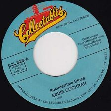 "EDDIE COCHRAN - Summertime Blues 7"" 45"