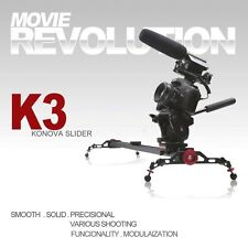 KONOVA KNK3100 K3-100 Canon 7D 5D 60D Nikon D800 D7000 Slider Camera Moving Rail