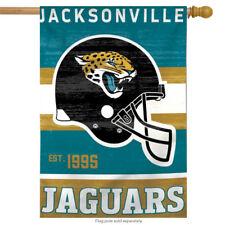 "Jacksonville Jaguars Vertical Nfl House Flag Licensed Football Banner 28"" x 40"""