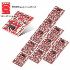 10Pcs TTP223 Touch Key Module Capacitive Digital Touch Switch Self-lock/No-lock