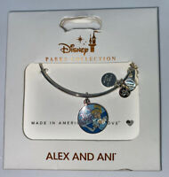 Disney Parks Cinderella Have Carriage and Be Kind Bangle Alex and Ani Silver New